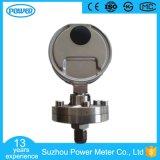 alta qualidade de 100mm todo o tipo sanitário manómetro do aço inoxidável do diafragma