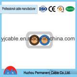Cabo flexível isolado PVC superior de Rvvb da qualidade