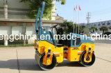 Rolo Vibratory do cilindro dobro hidráulico cheio com certificado Jm802h do Ce