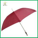 Parapluies droits promotionnels faits sur commande bon marché de bâton de marche d'impression avec le logo