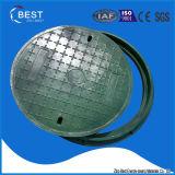 Coperchio di botola composito di plastica rotondo di BMC 700mm