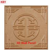 доска PU панели стены украшения 3D кожаный декоративная