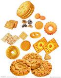 Ligne de produits de biscuits entièrement automatique