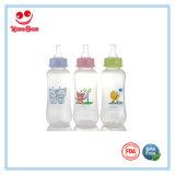 бутылки пластичного младенца формы дуги 240ml/8oz подавая с печатание