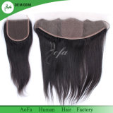 100% Natural Mono Top Wig Silk Base Encerramento Lace Frontal