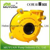 Pompe centrifuge de boue de débordement d'épaississant de circuit de flottaison de haute performance