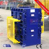 Aufbau-Zerkleinerungsmaschine für Zerkleinerungsmaschine der Rollen-100tph mit der vier Rollen-dreistufigen Zerkleinerungsmaschine