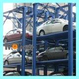 Multilevels Hydraulic Four Post Stacker Système de stationnement de voiture