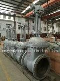 Valvola a saracinesca di Wcb dell'acciaio di getto di Dn800 Py25 GOST/DIN (Z541Y-DN800-25C)