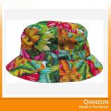 2016 chapéus florais da cubeta da impressão da forma