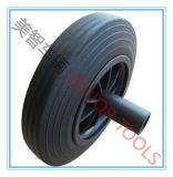 [8إكس2] رخيصة صلبة مطّاطة مسحوق [غربج بين] عجلات مع محور العجلة