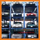 Lifter стоянкы автомобилей электрического автомобиля 4 столбов гидровлический многоуровневый