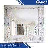 Miroir en aluminium à double revêtement de 1,3 mm pour salle de bain