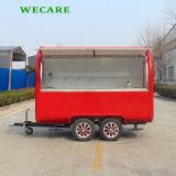 중국 전기 이동할 수 있는 Towable 음식 트럭