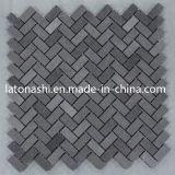 Mosaico de basalto negro de la naturaleza para pisos y albañilería