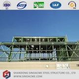 Cloche légère préfabriquée élevée de structure métallique