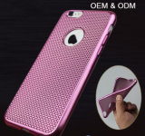 iPhoneのための最もよいRugged Braided Newest Ultra Thin Electroplate TPU Cell Phone Case 6 6s Plus Mobile Cover