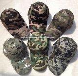 100% algodão 6 Painéis Boné de camuflagem militar (V12001)