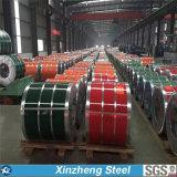 La bobina d'acciaio preverniciata di PPGI, colora la bobina d'acciaio rivestita, PPGI con termine di consegna stabile