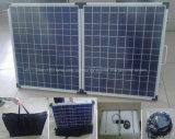 야영을%s 접히는 휴대용 태양 모듈 160W