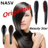 Generación de fábrica 3 Nasv300 LCD eléctrico plancha de pelo de cepillo Beautystar