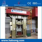 Transformación de alta y baja velocidad que amortigua la máquina de la prensa del sacador del CNC del diseño