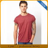 Magliette rotonde 100% del collo del cotone dell'OEM per gli uomini