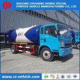 HOWO 6X4 12000liters 12m3 6mt LPGのガス販売のための満ちるタンクLPG Bobtail