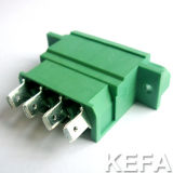 Conector de Bulkhead Plugable com Modo Through-The-Wall
