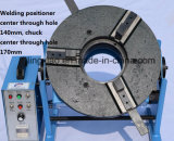 Tabela de giro certificada Ce HD-100 da soldadura para a soldadura circular