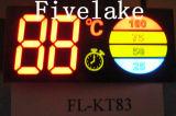 Module d'affichage du segment LED personnalisé pour chauffe-eau électrique (KT183)