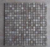 Il mosaico di marmo delle mattonelle del granito per il rivestimento della parete della pavimentazione decora