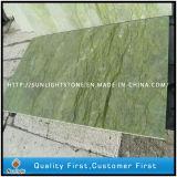 Telhas de mármore verdes do assoalho e da parede do banheiro da cozinha de China Dandon