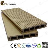 Pavimento em teca natural Revestimento de madeira e plástico composto