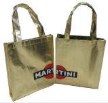 Custom Hot Sale Metallic Metal Lamination Non Woven Bag