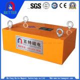 Separador magnético del hierro de la suspensión de la serie de Rcyb de la certificación del Ce para el transportador de correa