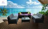 Do sofá ao ar livre ajustado do Rattan do pátio do pátio de Hz-Bt97 Rio jogo secional de vime da mobília do jardim do sofá