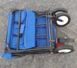 Складывая вагонетка с 4 колесами