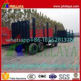 Aanhangwagen van de Trekbalk van de container de Volledige Flatbed