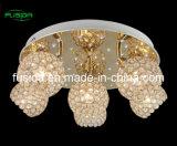Più nuova lampada di cristallo del soffitto con il LED (C-9460/6A)
