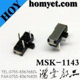 Высокое качество 3контактный DIP-ползунковый переключатель типа 2Положение тумблера (MSK-1143-1)