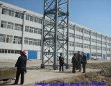 Qualidade agradável de Hongda guindaste de torre de 12 toneladas