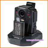 De beste Wearable Videocamera van de Politieman HD 1080P Facultatief met 3G 4G GPS WiFi