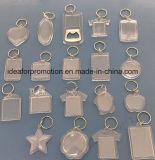 Custom акриловый цепочки ключей и пластмассовый цепочке для ключей для продвижения по службе, вышивка цепочки ключей