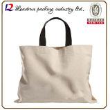 Sac à provisions non-tissé de papier de traitement de toile de coton de cuir de sac à provisions de cadeau (X070)