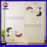 Armoire de porte coulissante design fleur (Zh076)