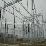Struttura d'acciaio della sottostazione del trasformatore del trasporto di energia