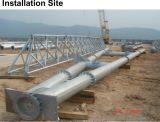 Sola torre galvanizada fuente profesional del tubo