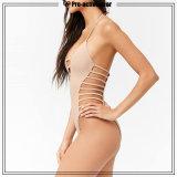 Soem-reizvolle Strand-Mädchen-einteiliger Bikini-Badeanzug