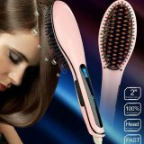 Bürste Hair Straightener Comb Irons Come mit LCD Display Electric Straight Hair Comb Straightening